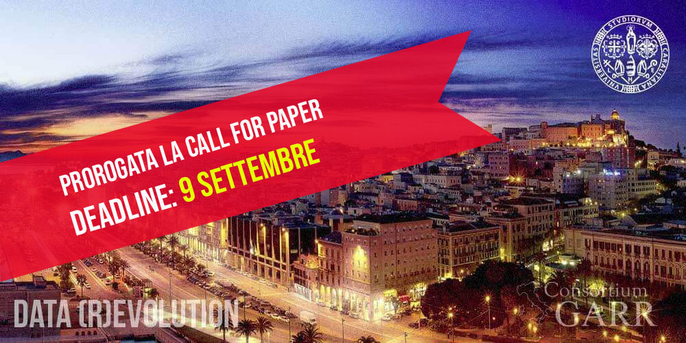 Call for paper Conferenza GARR 2018