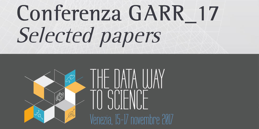 Online i selected papers della Conferenza GARR 2017