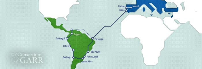 Land! The EllaLink transatlantic cable has just arrived in Latin America