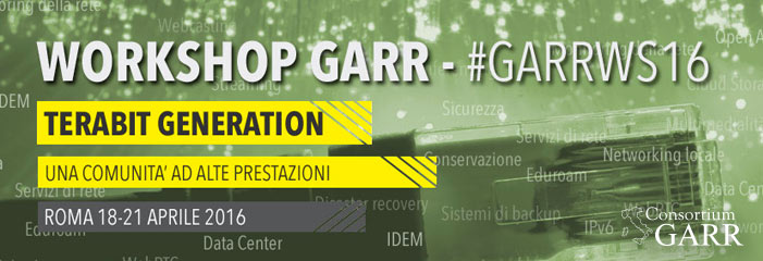 Workshop GARR 2016