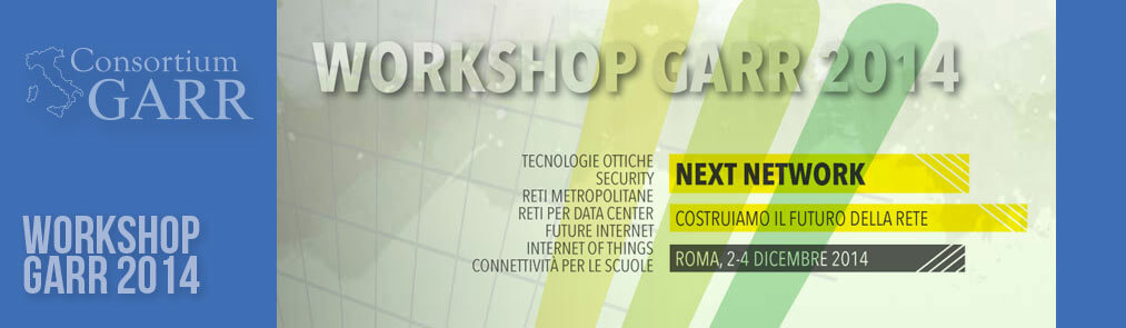 Workshop tecnico GARR 2014