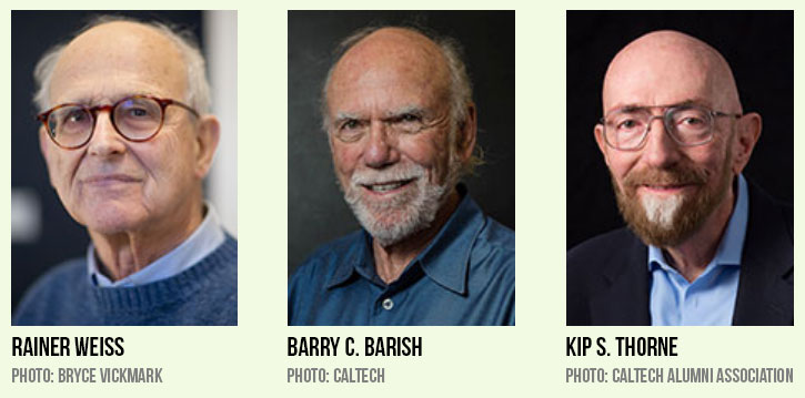 Nobel Prize in Physics 2017 Winners