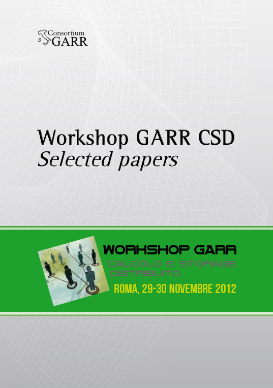 Workshop GARR CSD 2012