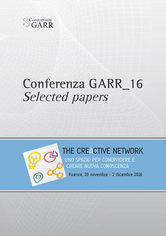 2016 GARR Conference - Selected Papers