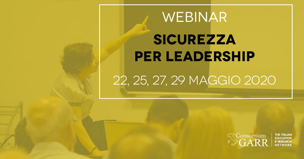 Sicurezza per leadership