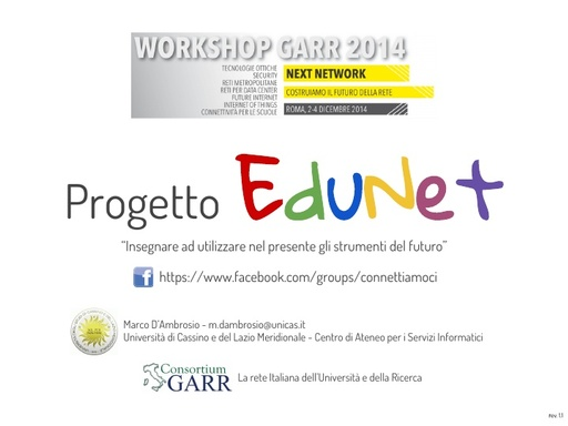 Ws14 - Presentazione - M. D'Ambrosio