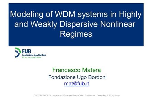 Ws14 - Presentazione - F. Matera - 1