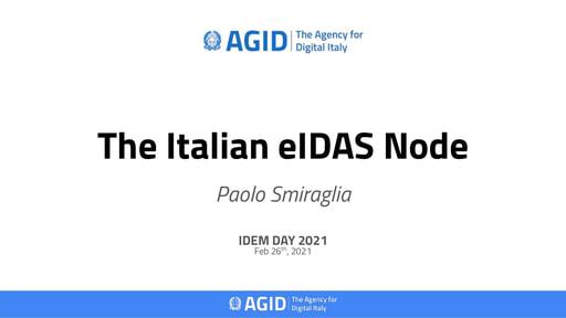 IDEM Day 2021 - Slide - Smiraglia
