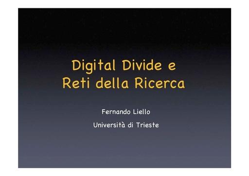 Conferenza GARR 2006 - Presentazione - Liello