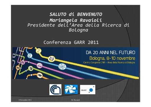 Conferenza GARR 2011 - Presentazione - Ravaioli M.