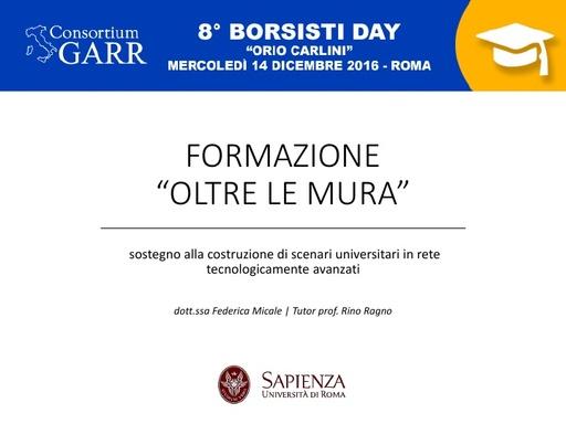 8 Borsisti Day - Federica Micale