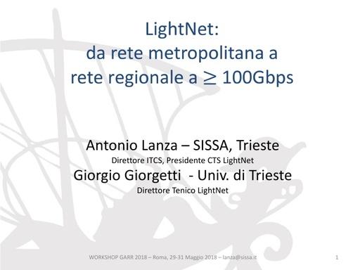 WS18 - G. Giorgetti - Le nuove sfide delle reti metropolitane