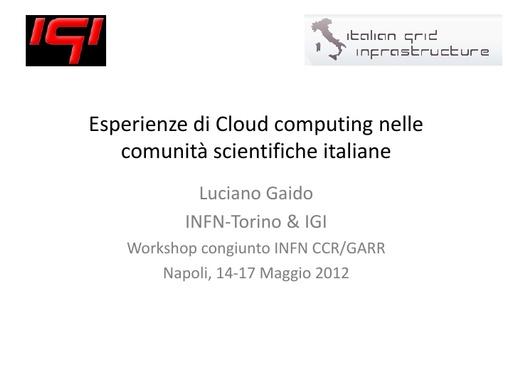 WS12 - presentazione - L. Gaido