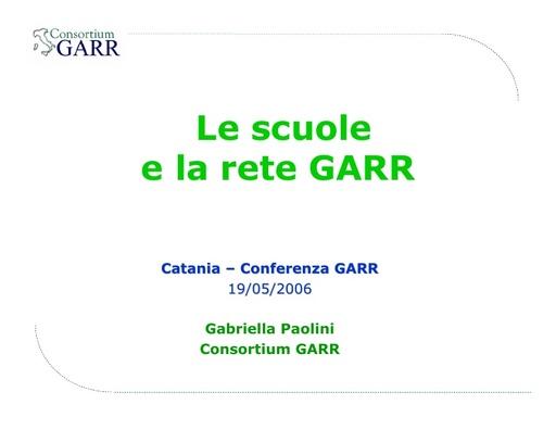 Conferenza GARR 2006 - Presentazione - Paolini