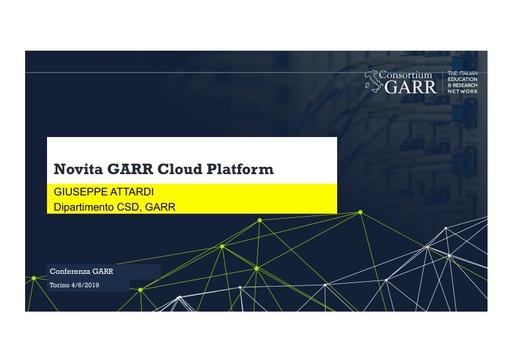 Conferenza GARR 2019 - Presentazione - Attardi