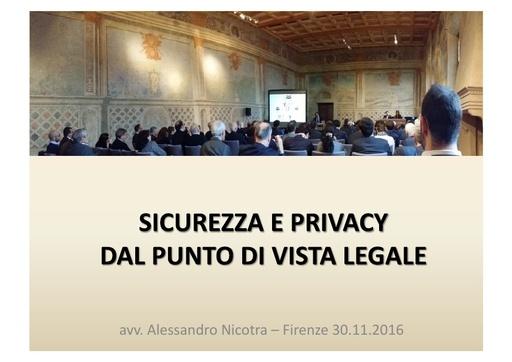 Conferenza GARR 2016 - Presentazione - Nicotra