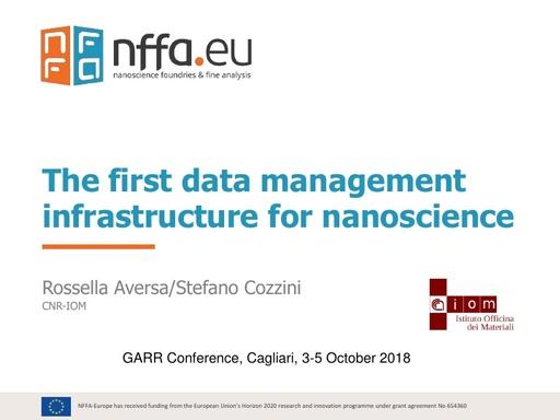 Conferenza GARR 2018 - Presentazione - Aversa