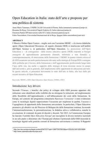 Conferenza GARR 2016 - Paper - Tammaro