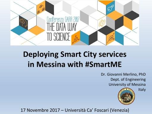 Conferenza GARR 2017 - Presentazione - Merlino