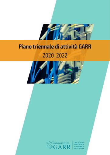 Piano triennale di attività GARR 2020-2022