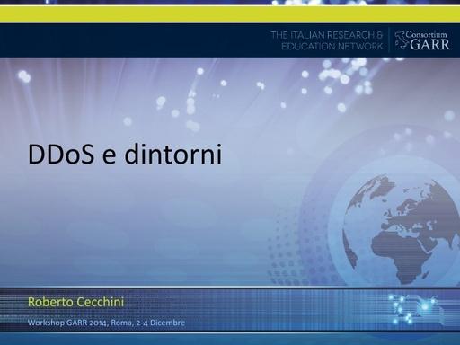 Ws14 - Presentazione - R. Cecchini