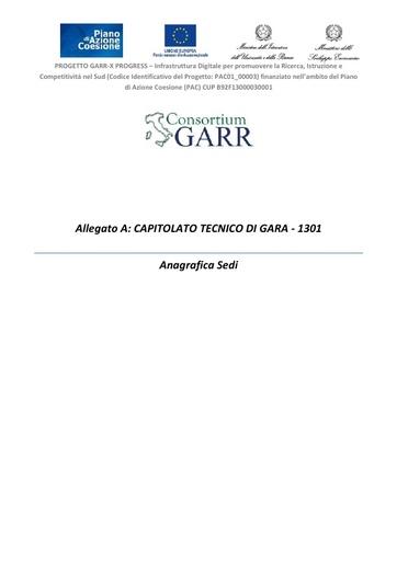 Allegato A Anagrafica Sedi - ver. 16/10/2013
