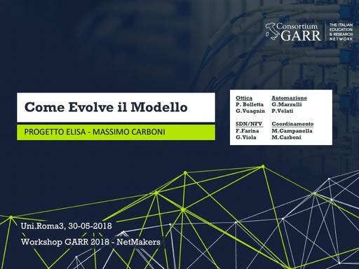 WS18 - M. Carboni - Linee guida e obiettivi