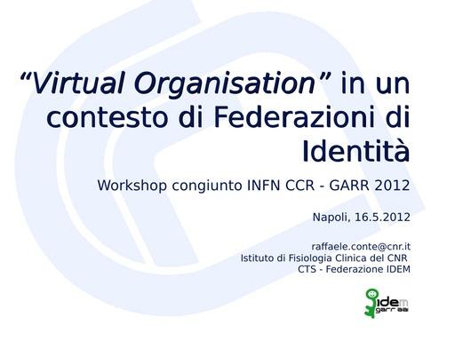 WS12 - presentazione - R. Conte
