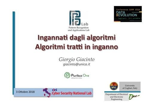 Conferenza GARR 2018 - Presentazione - Giacinto