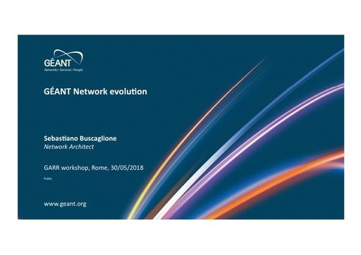 WS18 - S. Buscaglione - GEANT Network Evolution