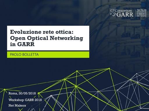 WS18 - P. Bolletta - Evoluzione rete ottica