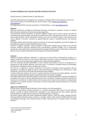 Conferenza GARR 2016 - Paper - Santoro