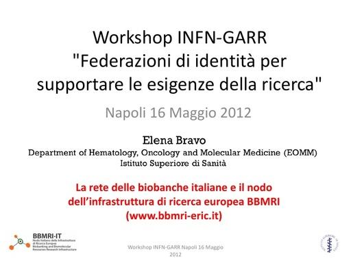 WS12 - presentazione - E. Bravo