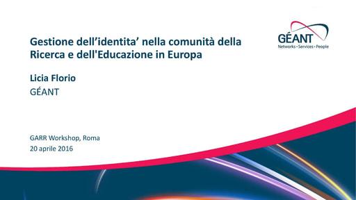 Ws16 - Presentazione - L. Florio