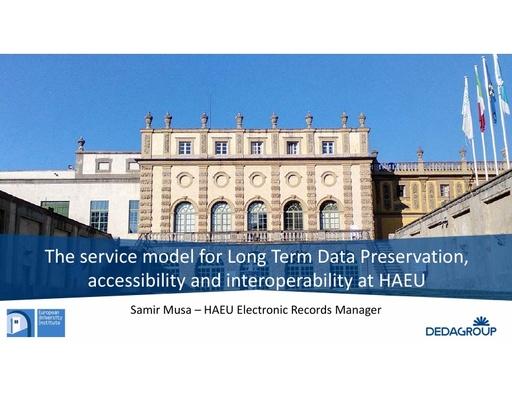 Conferenza GARR 2019 - Presentazione - Musa