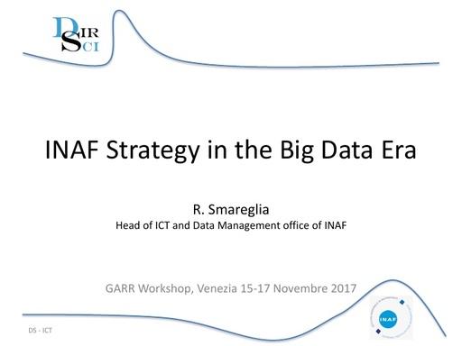 Conferenza GARR 2017 - Presentazione - Smareglia