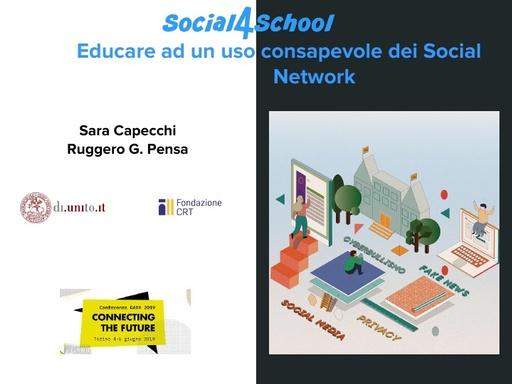 Conferenza GARR 2019 - Presentazione - Capecchi