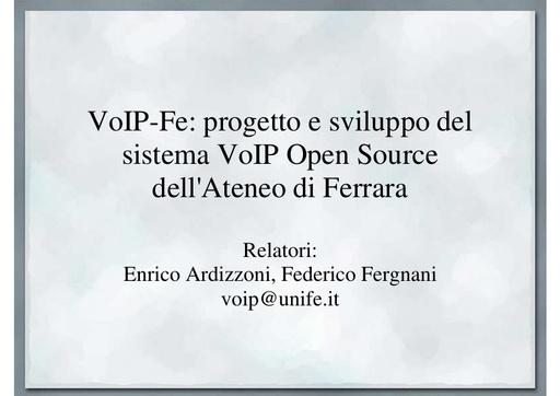 Ws09 - Presentazione - Ardizzoni - Fergnani - pdf