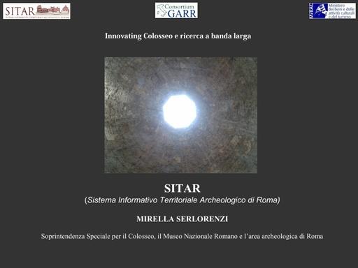 Presentazione SITAR Serlorenzi