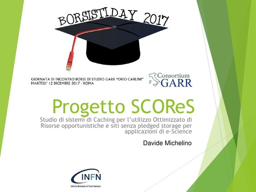 Borsisti Day 2017 - Davide Michelino