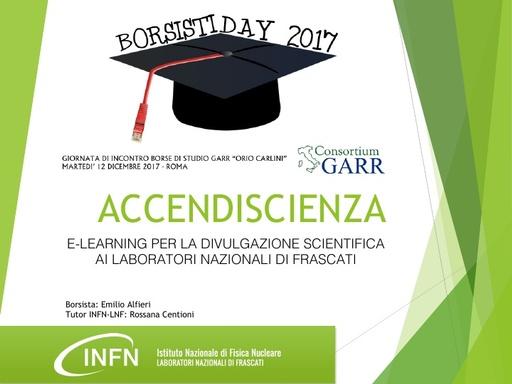 Borsisti Day 2017 - Emilio Alfieri