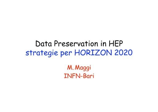 WS12 - presentazione - M. Maggi