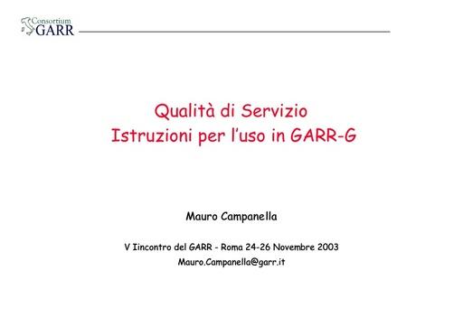 WS05 - presentazione - Campanella