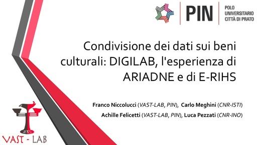 Conferenza GARR 2017 - Presentazione - Felicetti