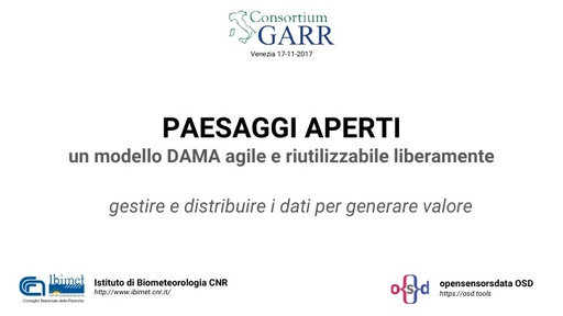 Conferenza GARR 2017 - Presentazione - Corsato