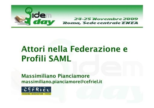 I IDEM Day - presentazione - Pianciamore