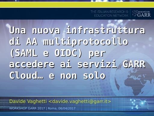 Ws17 - Presentazione - Vaghetti