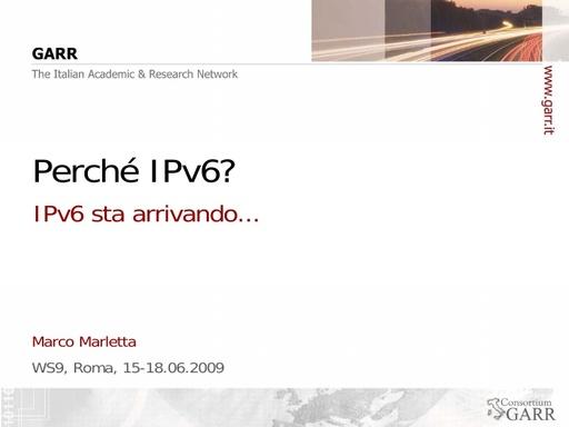 Ws09 - Presentazione - Marletta - Tutorial 1