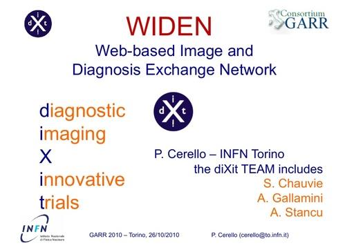 Conferenza GARR 2010 - Presentazione - Cerello
