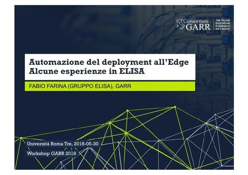 WS18 - F. Farina - Automazione del deployment all'edge